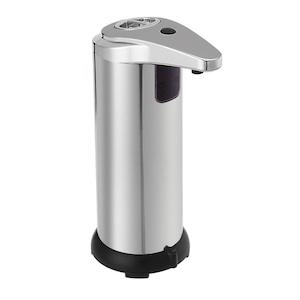 Dispenser metalic automat cu senzor pentru sapun lichid