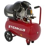 Steinhaus PRO-COM502 Dugattyús kompresszor, 50L, 2200W, 3 LE, 8bar, 392l/perc