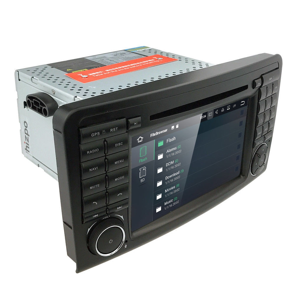Kenwood 1din AUX IN USB mp3 CD autoradio pour MERCEDES A-classe M-Classe Vaneo Vw Pa