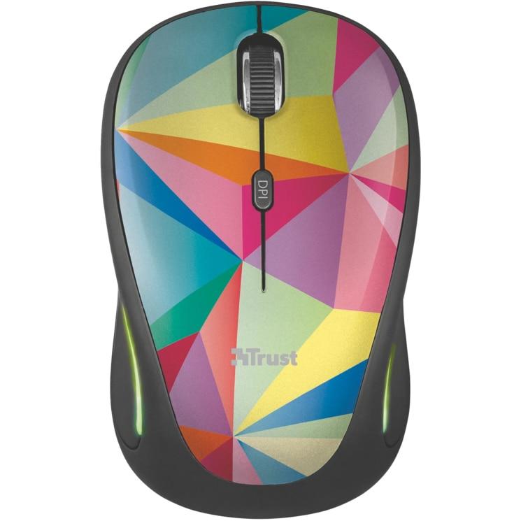 Fotografie Mouse wireless Trust Yvi FX, Multicolor