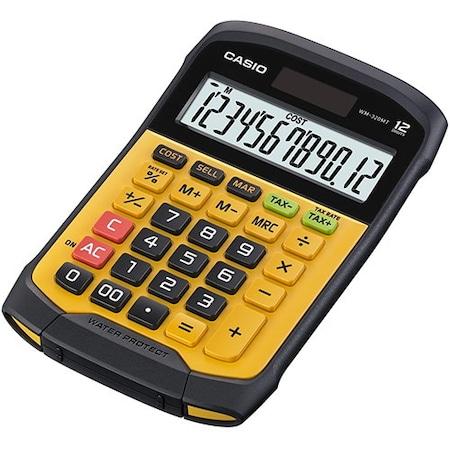Casio WM-320MT víz és porálló számológép, 12 számjegyű