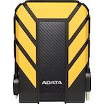 """Външен хард диск ADATA Durable HD710 Pro 2TB, 2.5"""", USB 3.1, Жълт"""