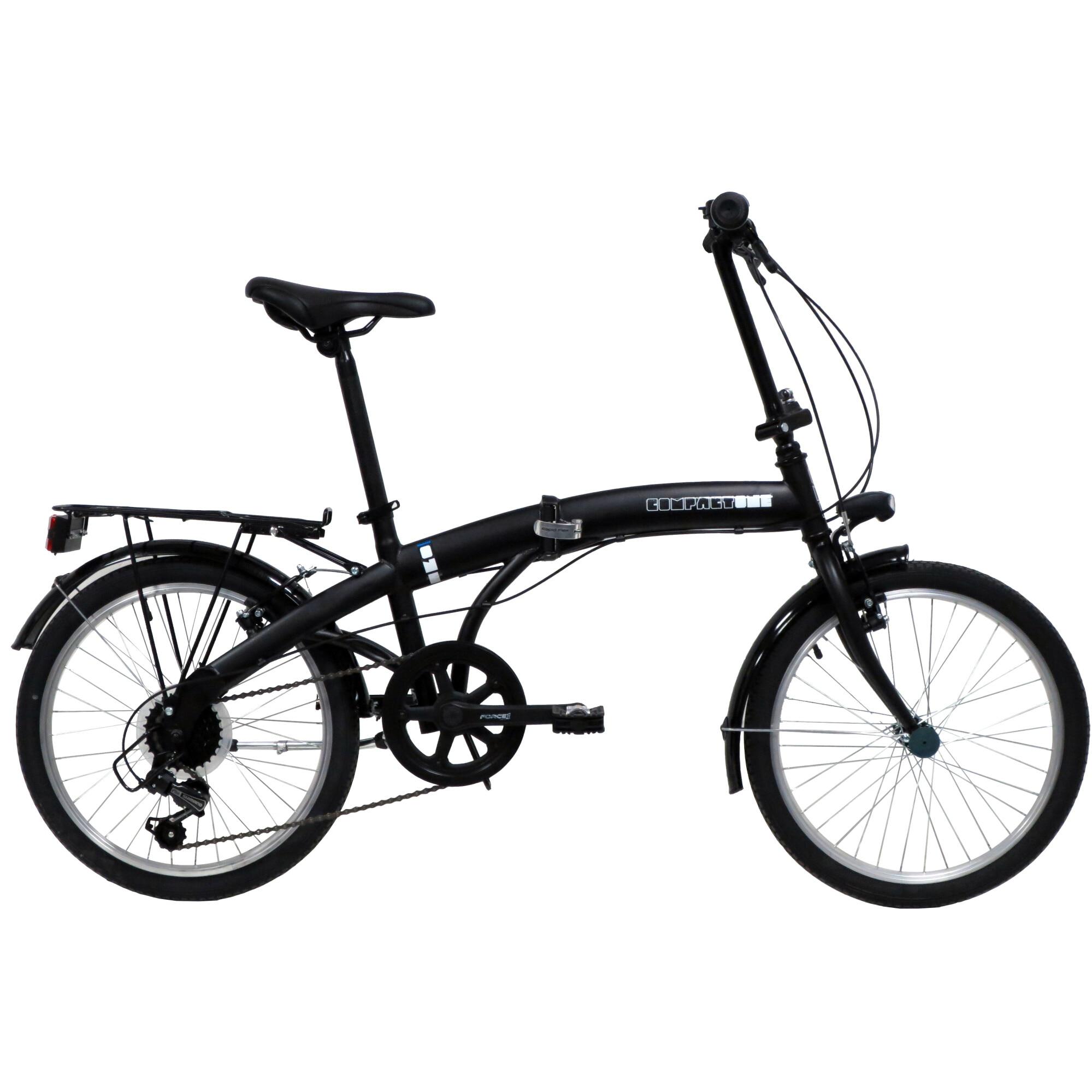 """Fotografie Bicicleta pliabila 20"""" Good Bike Foldable, 6V, Black"""