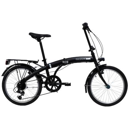 "Bicicleta pliabila 20"" Good Bike Foldable, 6V, Black"