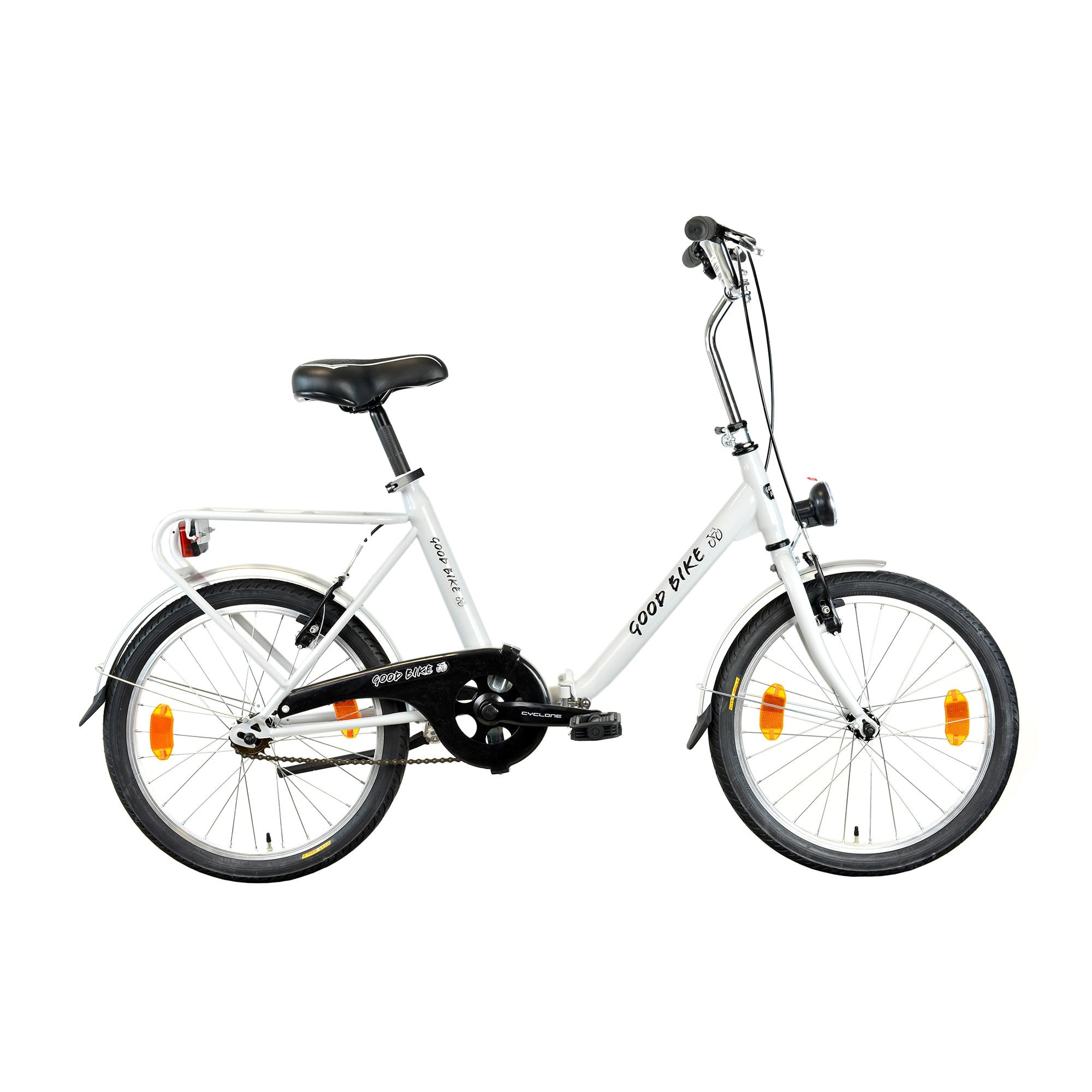 "Fotografie Bicicleta pliabila 20"" Good Bike Genny, 1V, White"