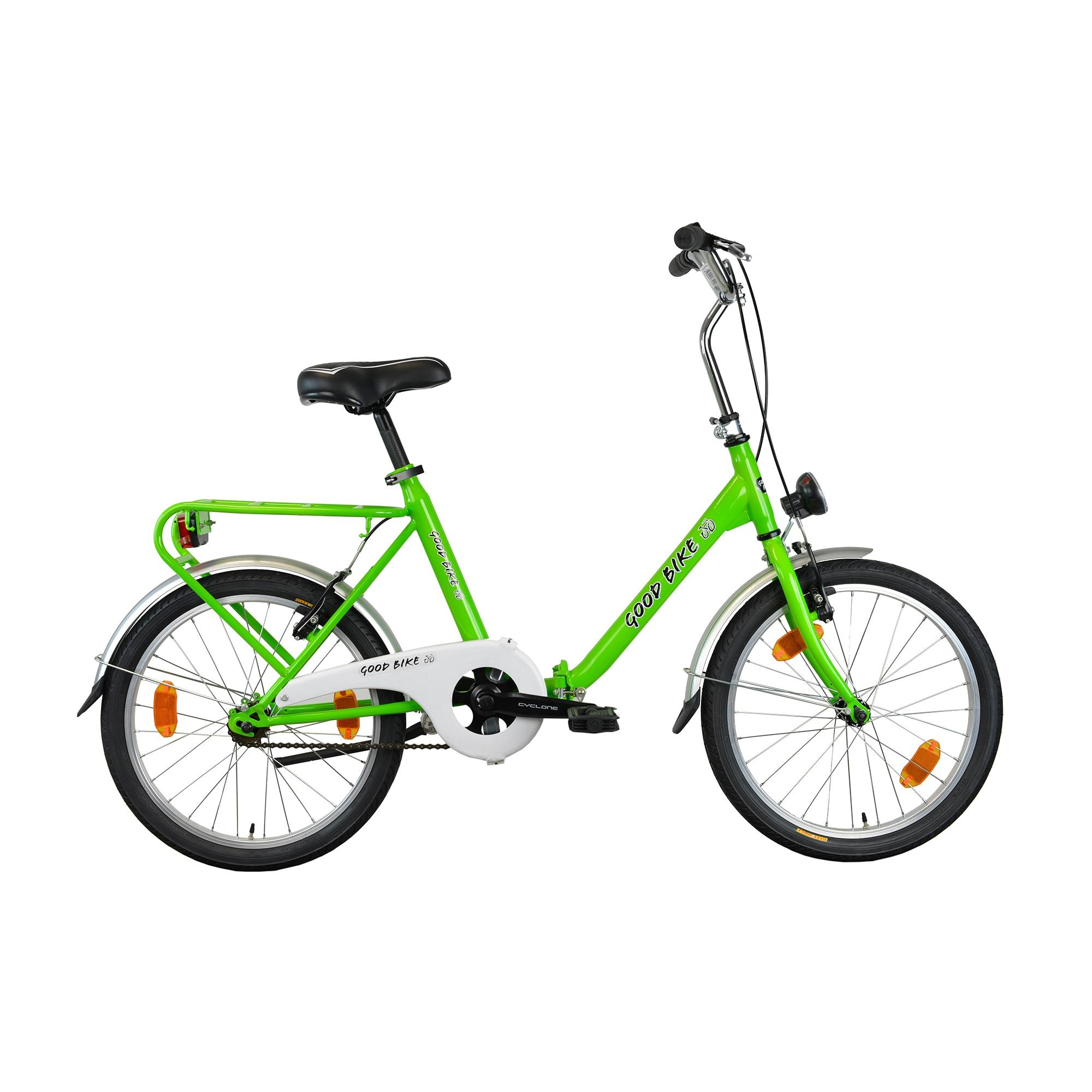 """Fotografie Bicicleta pliabila 20"""" Good Bike Genny, 1V, Green"""