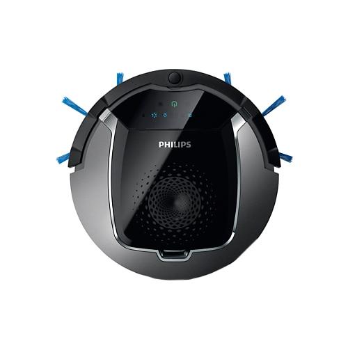 Fotografie Robot de aspirare Philips SmartPro Active FC8822/01, 0.4 l, 120 min, 3 etape de curatare, cap de aspirare TriActive XL, Negru