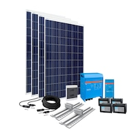 kit gard electric cu panou solar