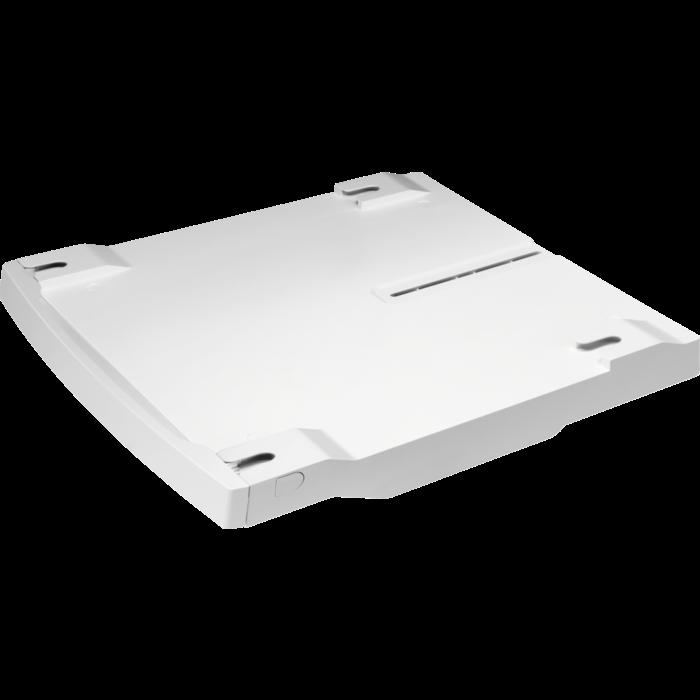 Fotografie Kit de suprapunere pentru masina de spalat si uscator Electrolux STA8GW, 47-57 cm, Compatibil cu modele Slim 7 kg, Alb
