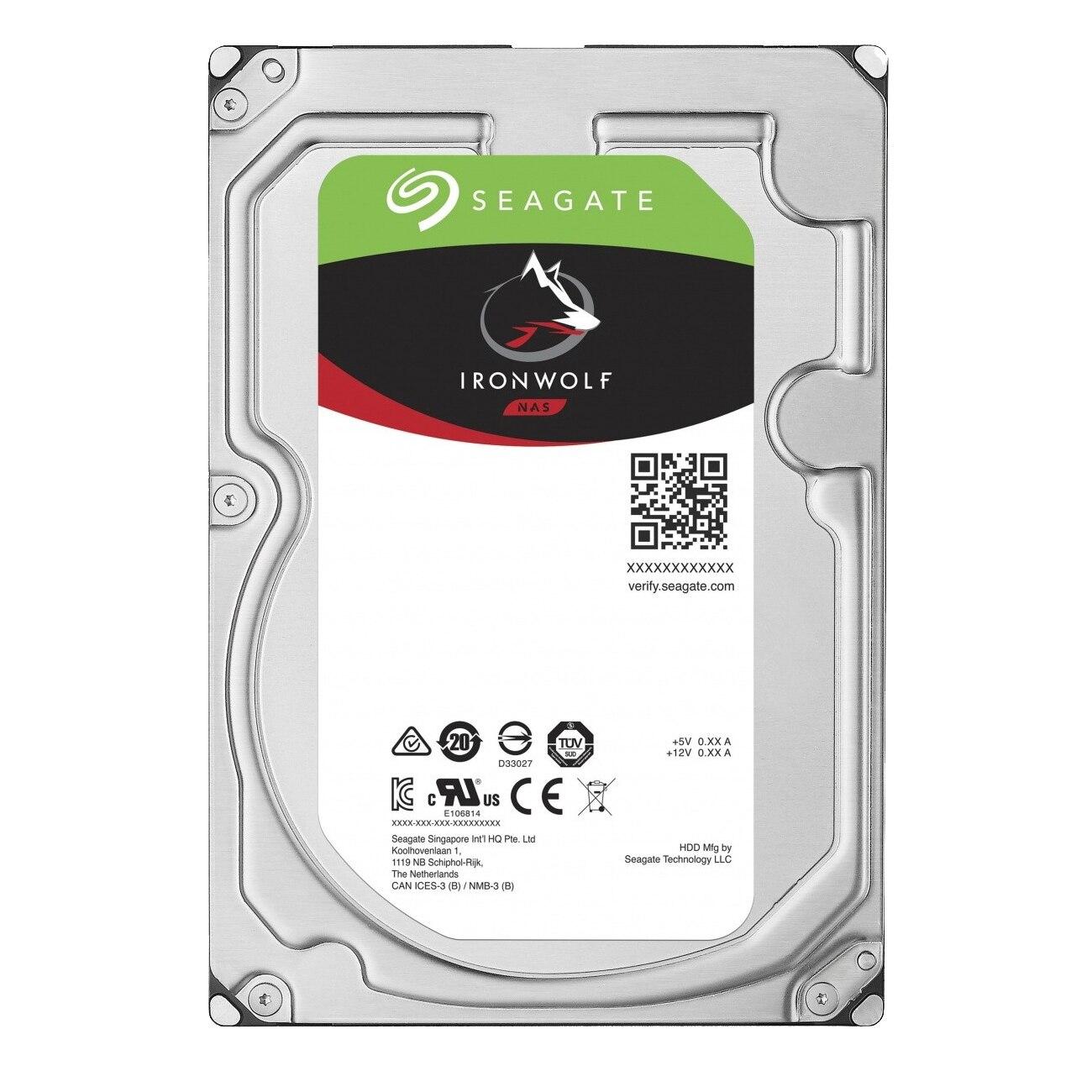 Fotografie HDD Seagate IronWolf, 6TB, SATA III, 256 MB