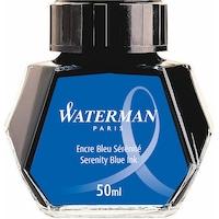 Calimara cerneala Waterman Standard Serenity Blue lavabil, 50ml
