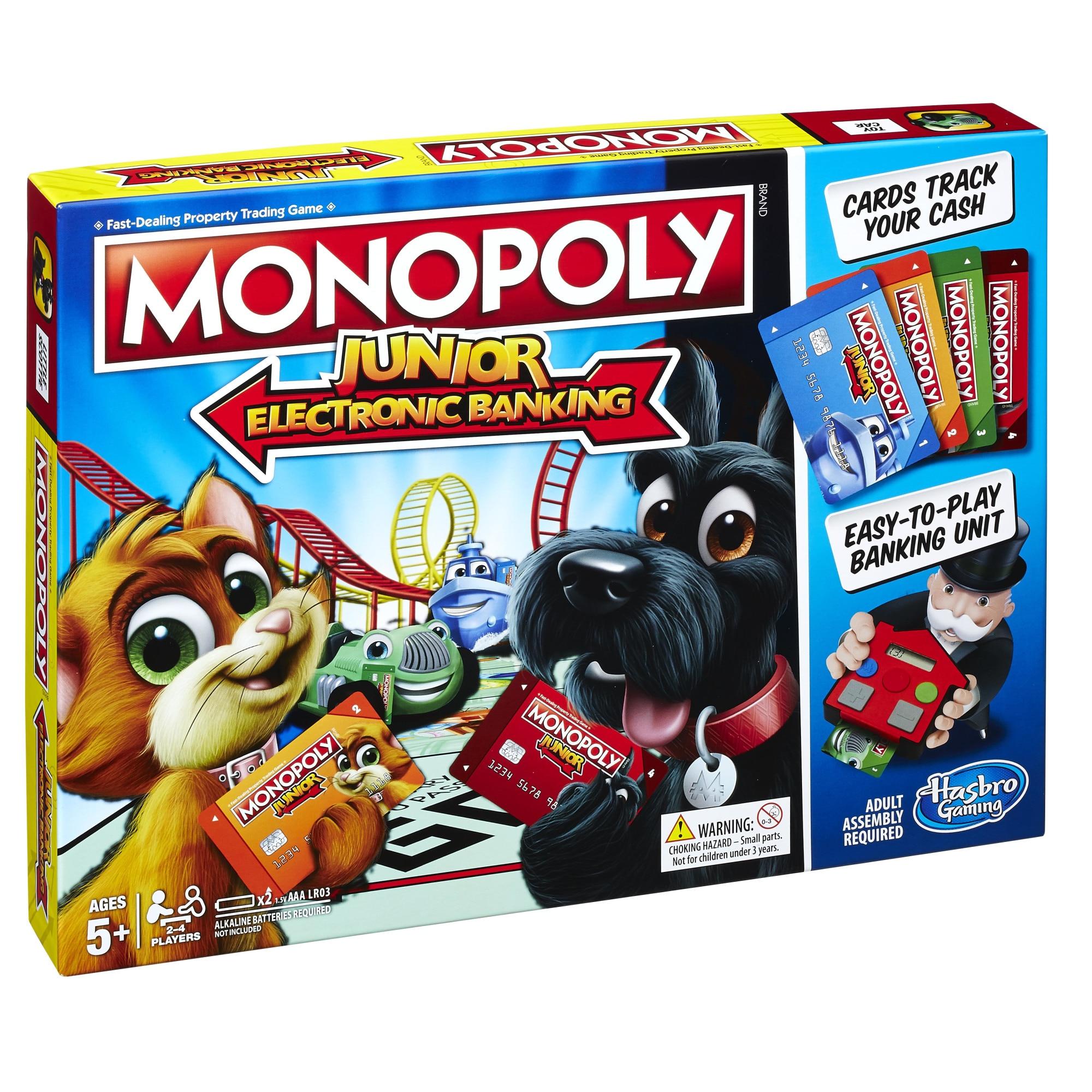 Fotografie Monopoly Junior Electronic Banking