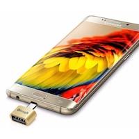 ÁTALAKÍTÓ - ADAPTER - eLough -OTG adapter és USB -micro USB átalakító -ezüst szín