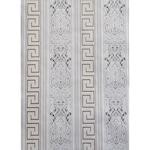 Tapéta DEGRETS 052-01 Papír, Versace 3D szürke-arany, Méret: 0.53m x 10.05m = 5.3 m2