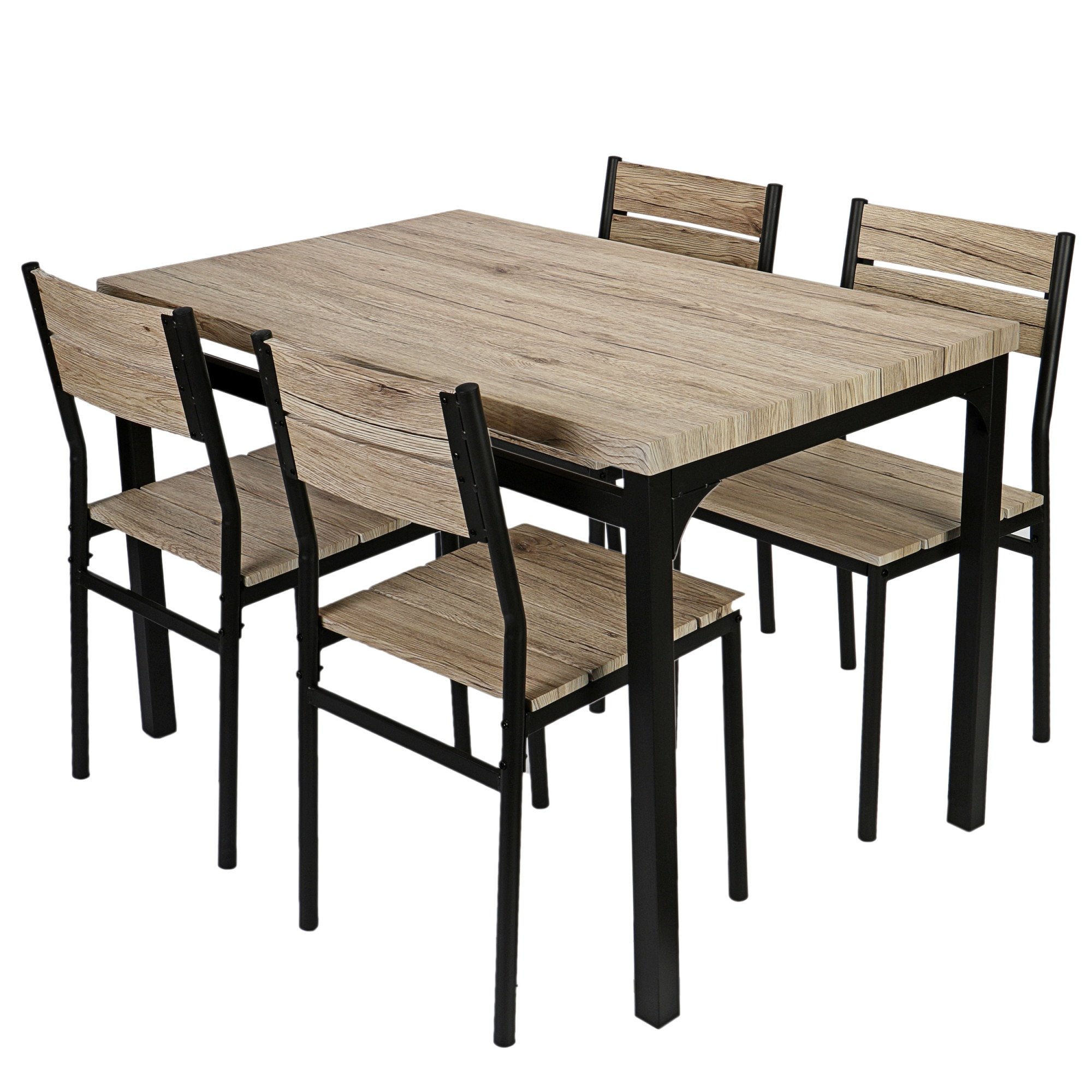 Fotografie Set dining Kring Toscana, masa cu 4 scaune, Bej