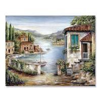 Картинa Канава Artfoyer, Тоскана, Mоре, Морски, 80 x 100 см