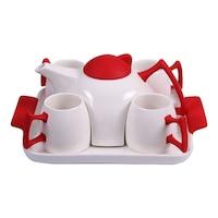 Комплект за чай PRC, 6 части, FP44438, Червен
