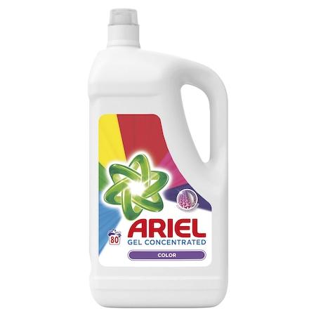 Течен перилен препарат Ariel Color, 80 изпирания, 4.4 л