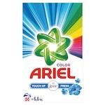 Прах за пране Ariel Touch of Lenor Fresh, Кутия, 66 изпирания, 6.6 кг