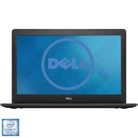 "Laptop Dell Inspiron 5570 cu procesor Intel® Core™ i7-8550U pana la 4.00 GHz, Kaby Lake R, 15.6"", Full HD, 8GB, 1TB + 128GB SSD, AMD Radeon 530 4GB, Ubuntu Linux 16.04, Black"