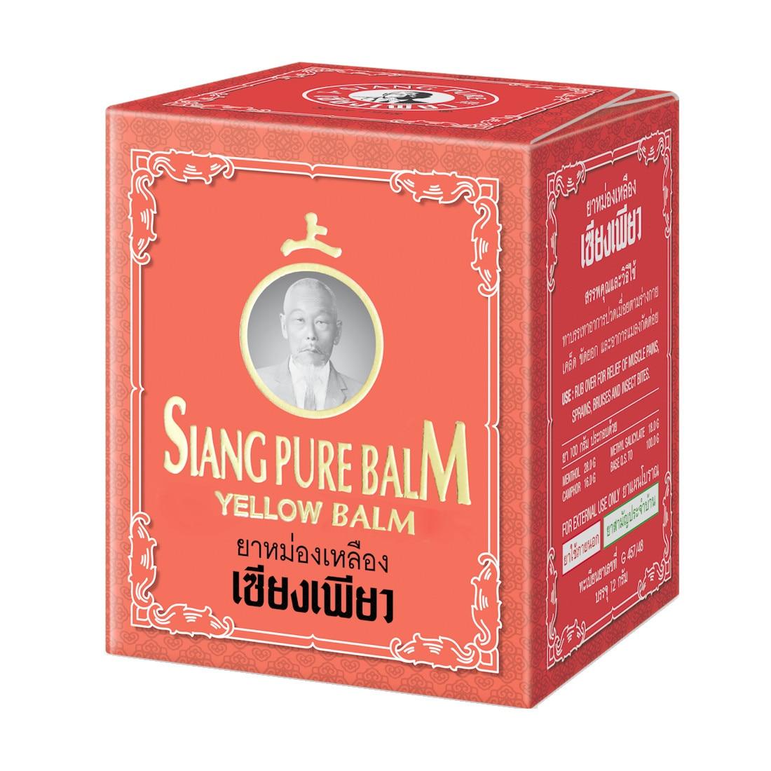 Balsamuri thailandeze pentru dureri articulare. Specificații principale