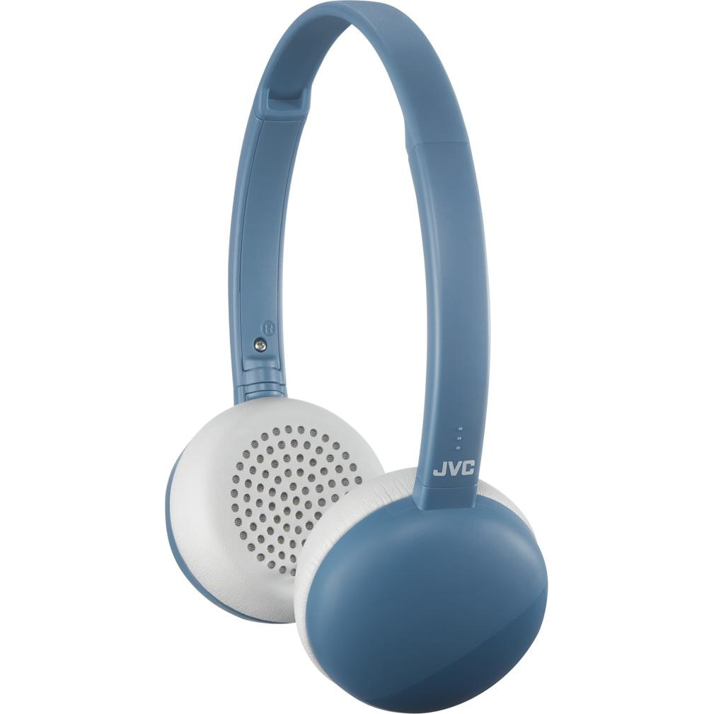Fotografie Casti Audio On Ear pliabile JVC HA-S20BT-A-E, Wireless, Bluetooth, Microfon, Autonomie 11 ore, Albastru