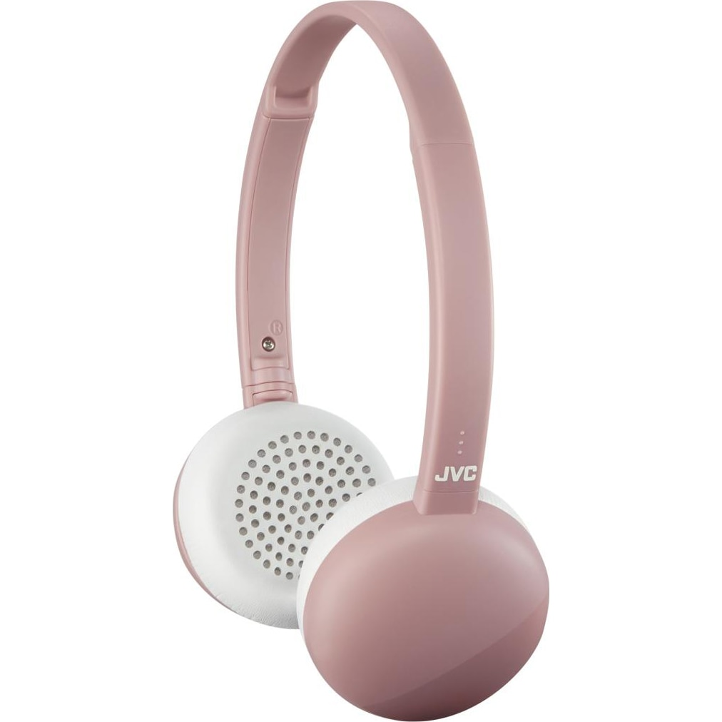 Fotografie Casti Audio On Ear pliabile JVC HA-S20BT-P-E, Wireless, Bluetooth, Microfon, Autonomie 11 ore, Roz