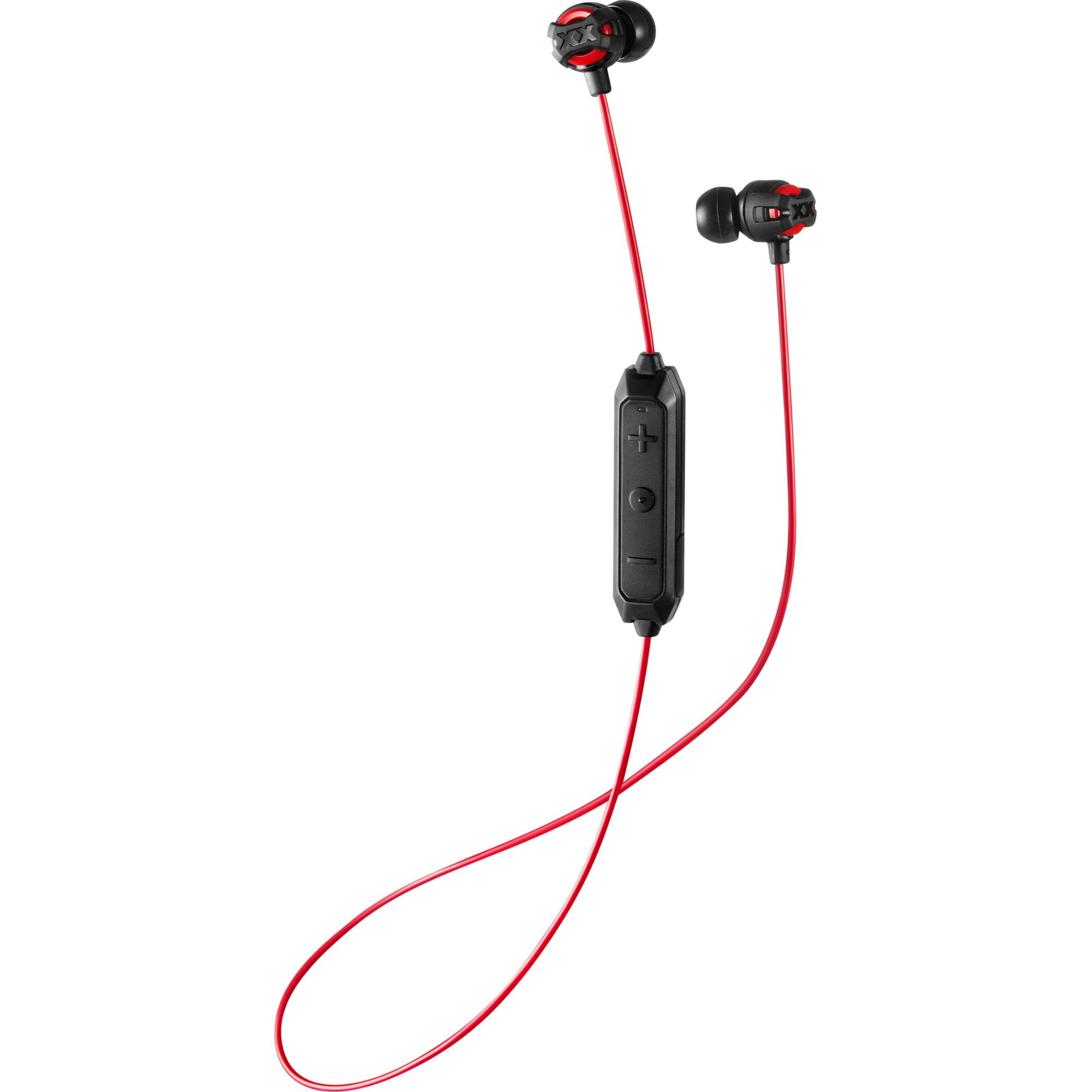 Fotografie Casti Audio In Ear JVC HA-FX103BT-RE, Wireless, Bluetooth, Microfon, Autonomie 5 ore, Rosu