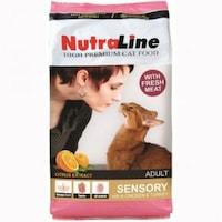 Гранулирана храна за капризни котки Nutraline 10 kg SENSORY