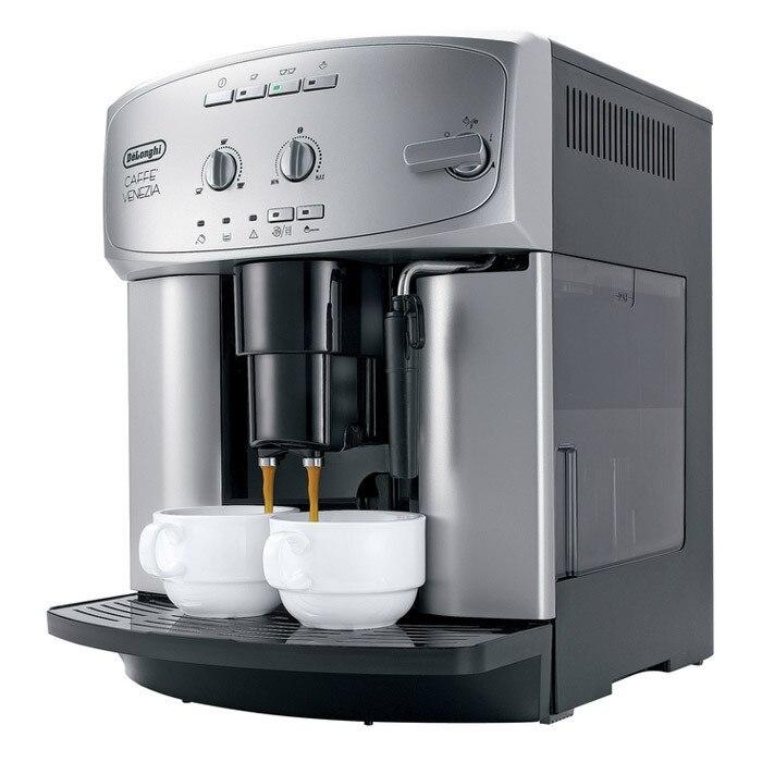 Fotografie Espressor automat De'Longhi ESAM 2200 Caffe Venezia, 1200W, 15 bar, 1.8 l, Argintiu