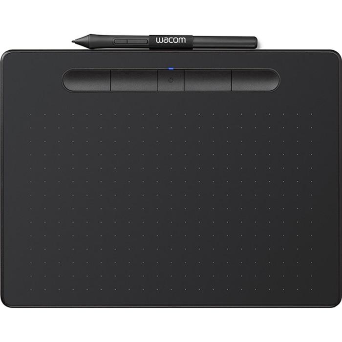Fotografie Tableta grafica Wacom Intuos S Bluetooth, Negru