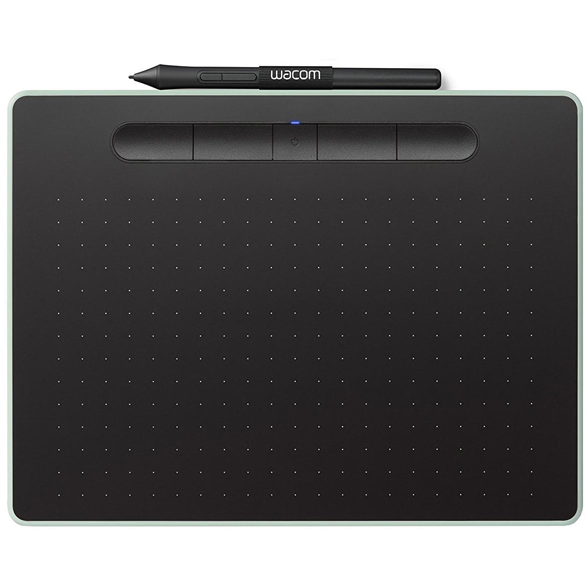 Fotografie Tableta grafica Wacom Intuos S Bluetooth, Pistachio