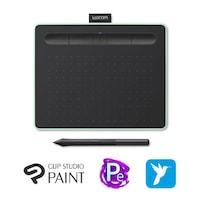 Wacom Intuos M Bluetooth Pistachio North digitalizáló tábla, Pisztácia