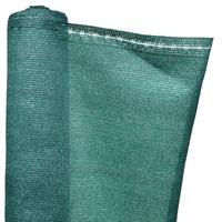 Árnyékoló Háló 1,5 X 10 M - Zöld 230 G/m2 - 95%-Os Fényszűrő Belátásgátló Védőháló Teraszra És Kerítésre