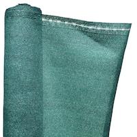 Árnyékoló Háló 1 X 10 M - Zöld 230 G/m2 - 95%-Os Fényszűrő Belátásgátló Védőháló Teraszra És Kerítésre -