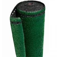 Árnyékoló Háló 1,5 X 10 M - Zöld-Fekete 260 G/m2 - 99%-Os Fényszűrő Belátásgátló Védőháló Teraszra És