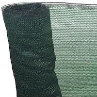 Árnyékoló Háló 2 X 10 M - Zöld 90 G/m2 - Fényszűrő Belátásgátló Védőháló Teraszra És Kerítésre - Uv