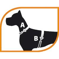 Нагръдник за куче Ferplast Ergocomfort M, A 37-47, B 55-65, за куче до 30 кг