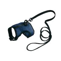 Нагръдник с повод за малки животни с обиколка на врата 12÷16 cm ,и обиколка на гърдите 18÷23 cm Ferplast Jogging Medium