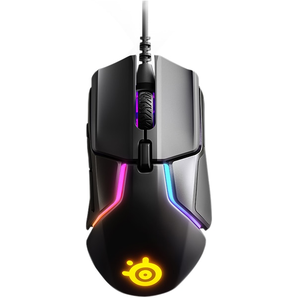 Fotografie Mouse gaming SteelSeries Rival 600, Negru