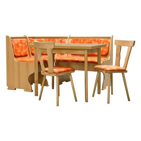 Комплект кухненски мебели Anna Elvila с разгъваема маса и 2 стола, Fag 3466-1014