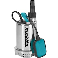 Pompa submersibila pentru apa curata Makita PF1100, 1100 W, 15000 l/h debit apa, 10 m inaltime refulare, 10 m cablu alimentare