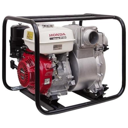Motopompa HONDA WT 30 XK3 DE, 5300W, 72000l/ora, motor benzina HONDA GX240, 4 timpi, ape reziduale
