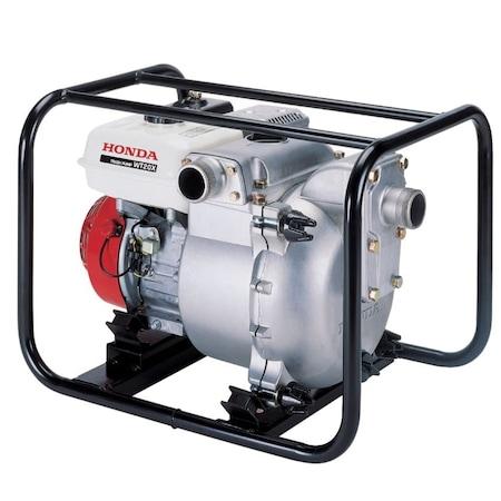 Motopompa HONDA WT 20 XK3 DE, 3600W, 42000l/ora, motor benzina HONDA GX160, 4 timpi, ape semiincarcate
