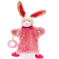 Марионетка, Ду-ду и Гризалка Eurekakids, 3 в 1, Розово зайче