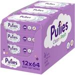 Pufies Aloe Vera nedves törlőkendő csomag 9+3 ingyen, 12x64 darab