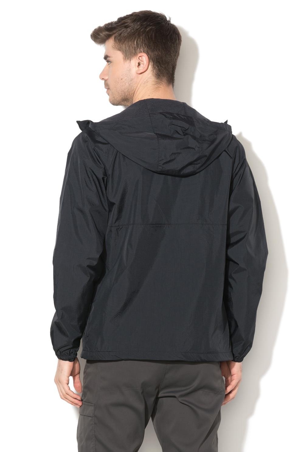 SUPERDRY, Ultimate vízálló kapucnis dzseki, Fekete, L eMAG.hu