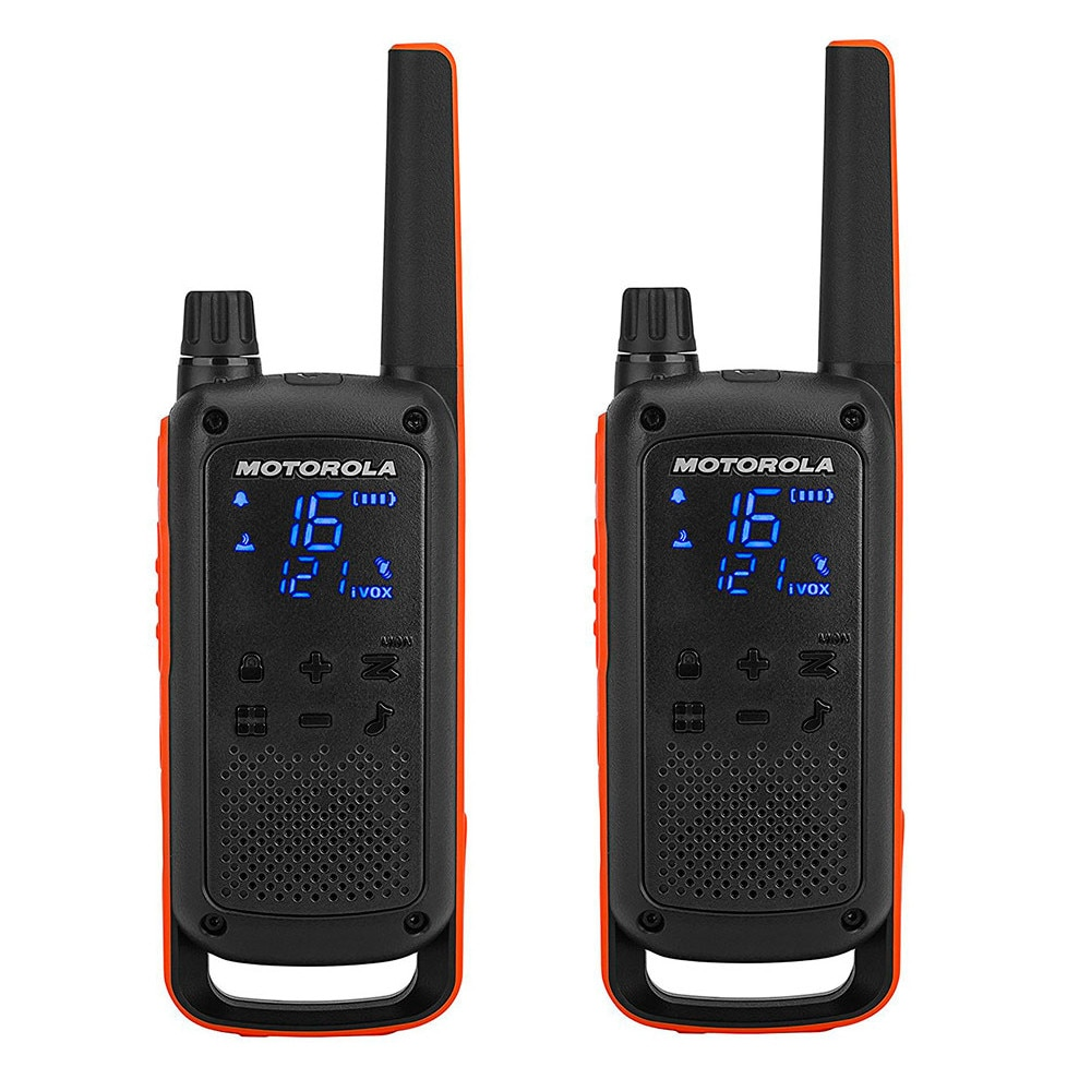 Fotografie Statie radio PMR portabila Motorola TALKABOUT T82 set, 2 buc