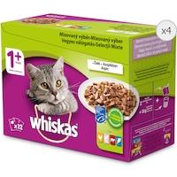 Мокра храна за котки Whiskas, Подбрани месни ястия, различни видове, 48x100 гр