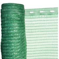 Árnyékoló Háló 1,2 X 10 M - Zöld 36 G/m2 - 30%-Os Fényszűrő Védőháló - Uv Stabil Hdpe Takaróháló - Raschel